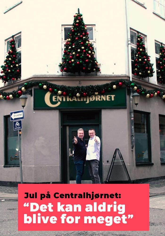 Jul på Centralhjørnet